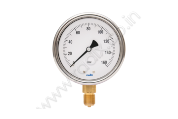 Diaphragm gauge with Compact Capsule