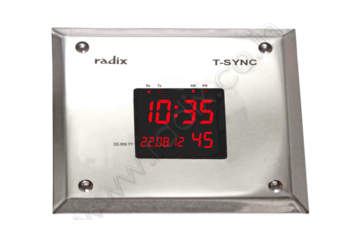 Digital clock  for Clean Rooms