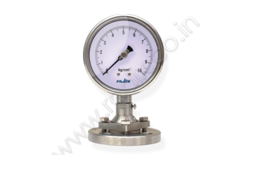 Flanged Sealed Gauge with Bolted Sealed Unit