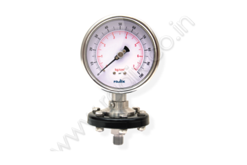 Economy Sealed Gauge - With Cup Type Tension flange