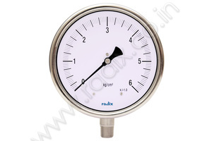 General Purpose Bourdon Pressure Gauge (Liquid filled)