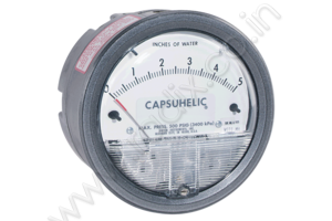 Capsuhelic Differential Pressure Gage