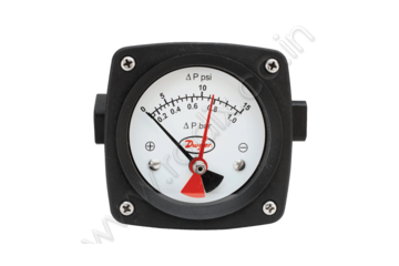 Differential Pressure Piston-Type Gage