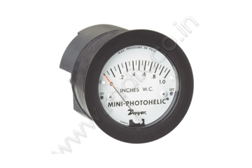Mini-Photohelic® Differential Pressure Switch/Gage