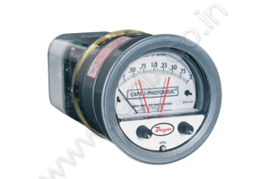 Capsu-Photohelic® Pressure Switch Gage