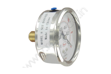 "2.5"" Stainless Steel Industrial Pressure Gage"