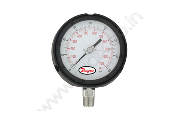 Process Gage with Dampened Movement