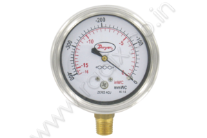 Stainless Steel Low Pressure Gage