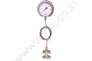 Pressure gauge with Sealed unit & Extension Capillary