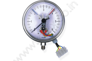Electric Contact Bourdon Pressure Gauge