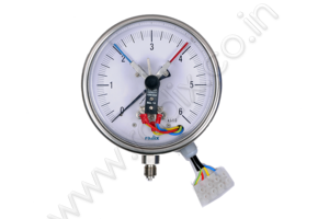 Electrical contact Temperature Gauge