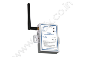 Wireless receiver with RS485 / MODBUS RTU